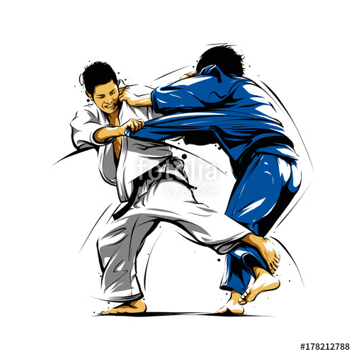 500x500 Judo Action 3 Stock Image And Royalty Free Vector Files On