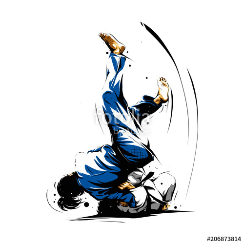 500x500 Judo Action 6 Stock Image And Royalty Free Vector Files On