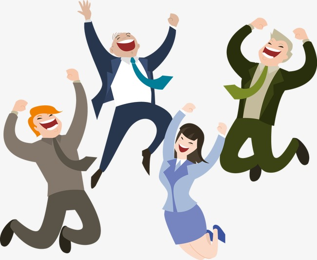 650x533 Happy People Jumping Vector, People Vector, Happy, Jump Png And