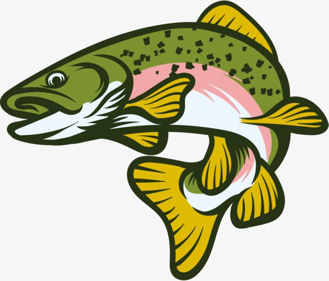 650x555 Green Fish, Green Vector, Fish Vector, Jumping Fish Png And Vector