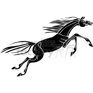 300x300 Royalty Free Jumping Horse 383680 Vector Clip Art Image