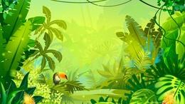 260x146 Download Jungle Vector Clipart Royalty Free Clip Art Jungle,leaf