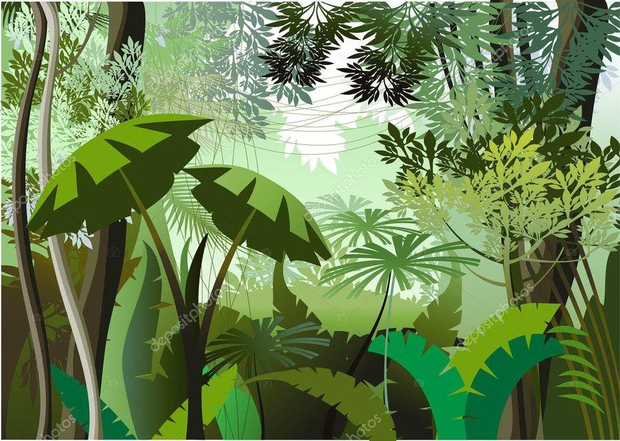 900x640 Download Jungle Vector Clipart Royalty Free Clip Art Jungle