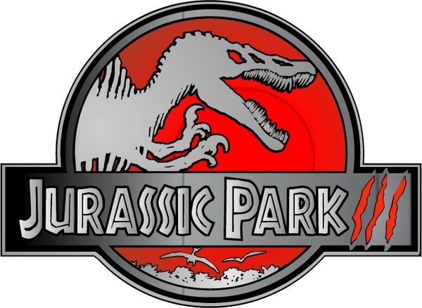 600x439 Jurassic Park Iii Free Vector In Encapsulated Postscript Eps