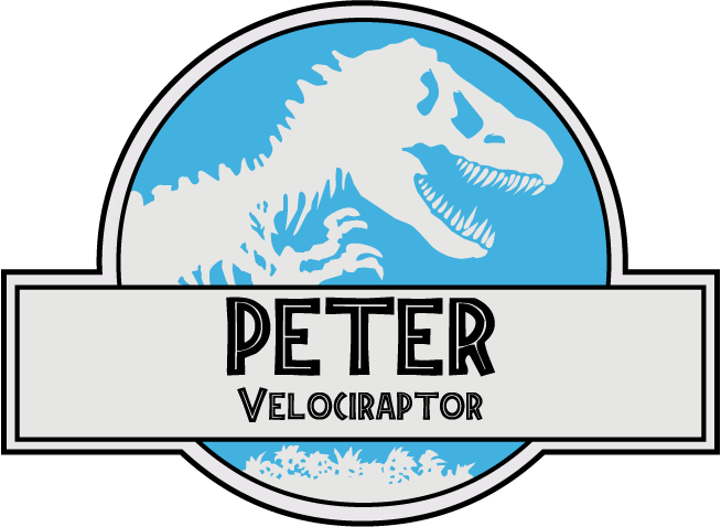 654x478 Decided To Make A Vector Of The Jurassic World Nametag Jurassicpark