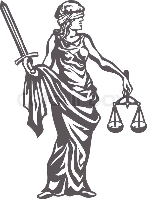 591x800 Femida With With A Sword And Scales, Lady Justice, Goddess And
