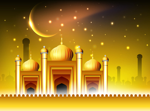496x368 Islamic Kaaba Vector Free Vector Download (333 Free Vector) For