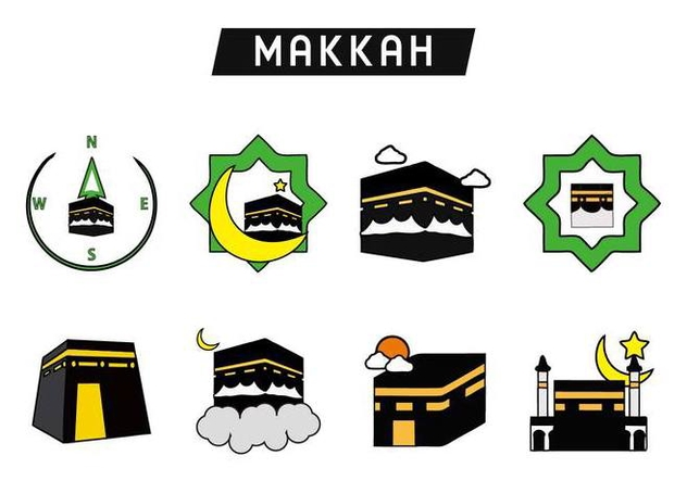 632x443 Free Holy Kaaba Makkah Vector Free Vector Download 400997 Cannypic