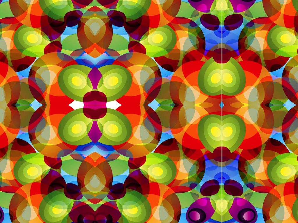 1024x767 Kaleidoscope Pattern Vector Art Amp Graphics