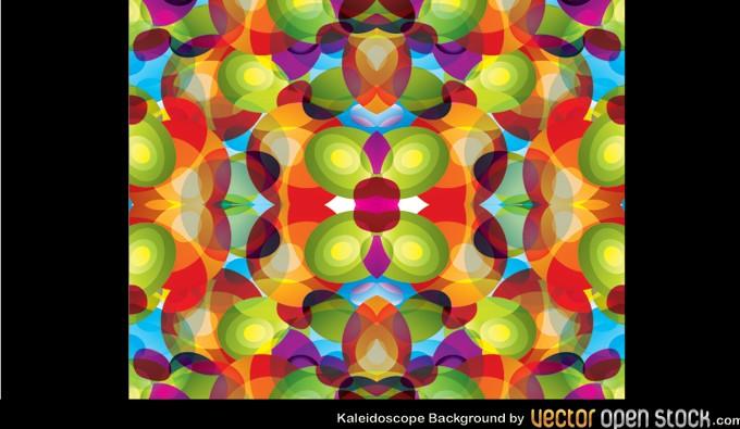 680x395 Rainbow Kaleidoscope Vector Vectorish