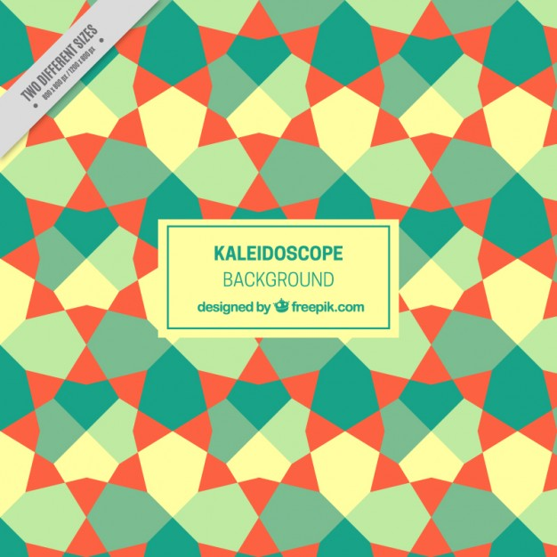 626x626 Geometric Background In Kaleidoscope Style Vector Premium Download