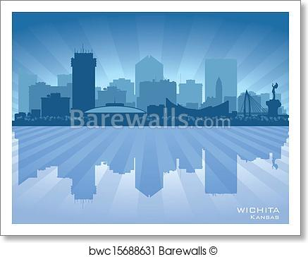 Kansas City Skyline Vector