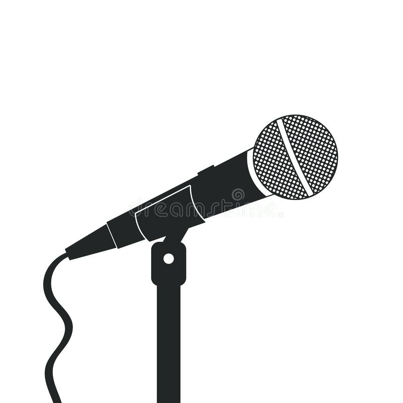 800x800 Karaoke Stand Download Microphone On The Stand Sound Recording