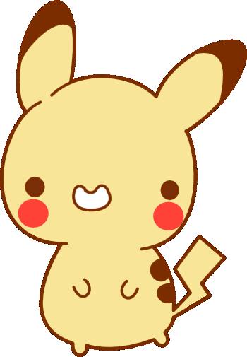 350x505 Kawaii Pikachu Vector By Generalthao
