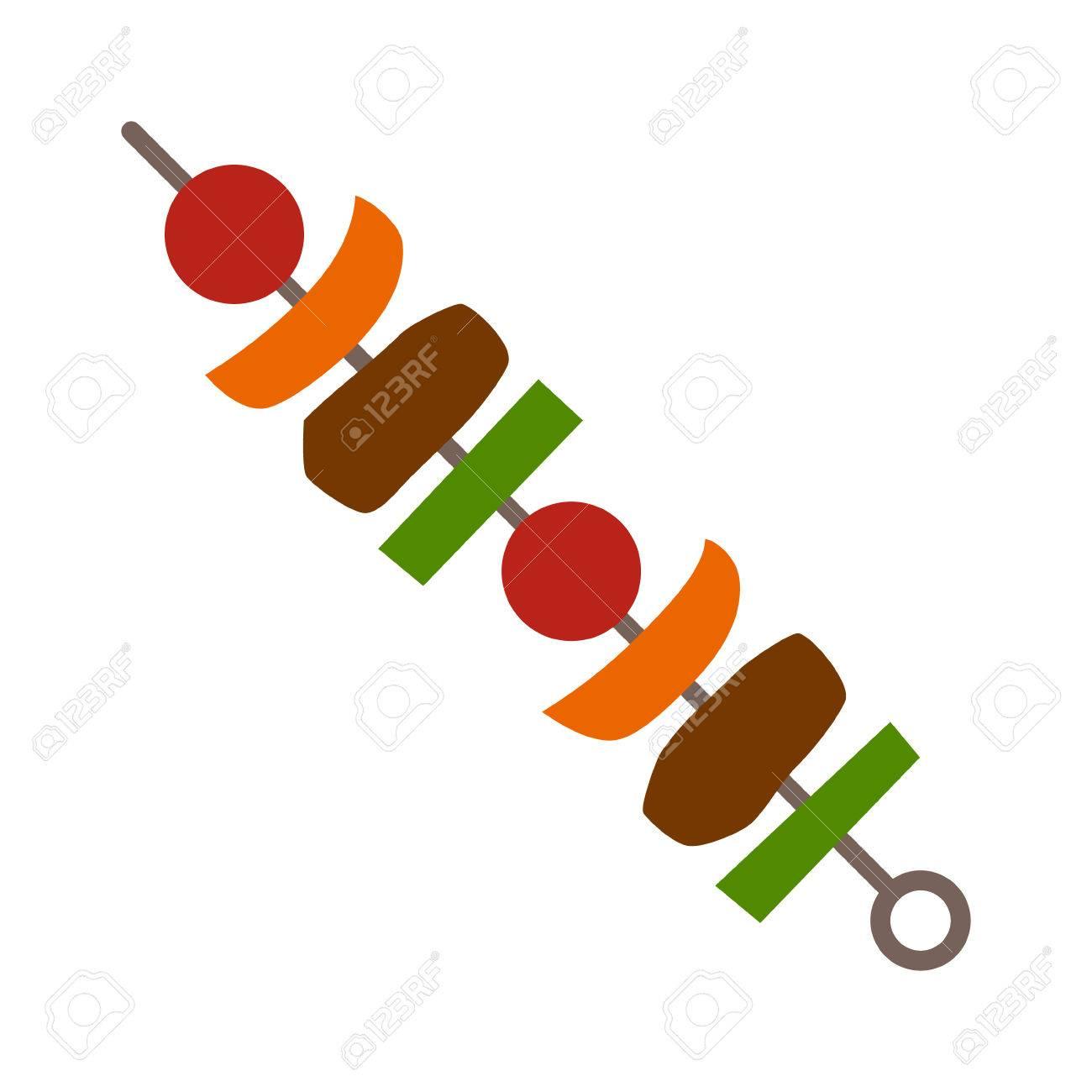 1300x1300 Kebab Grilled And Doner Kebab Vector Illustration