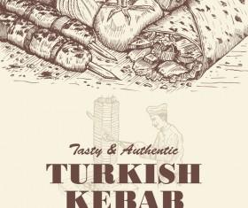 280x235 Kebab Vector