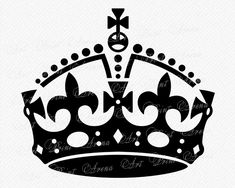 Keep Calm Crown Vector