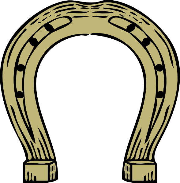 588x596 Collection Of Free Horseshoe Vector Kentucky Derby. Download On