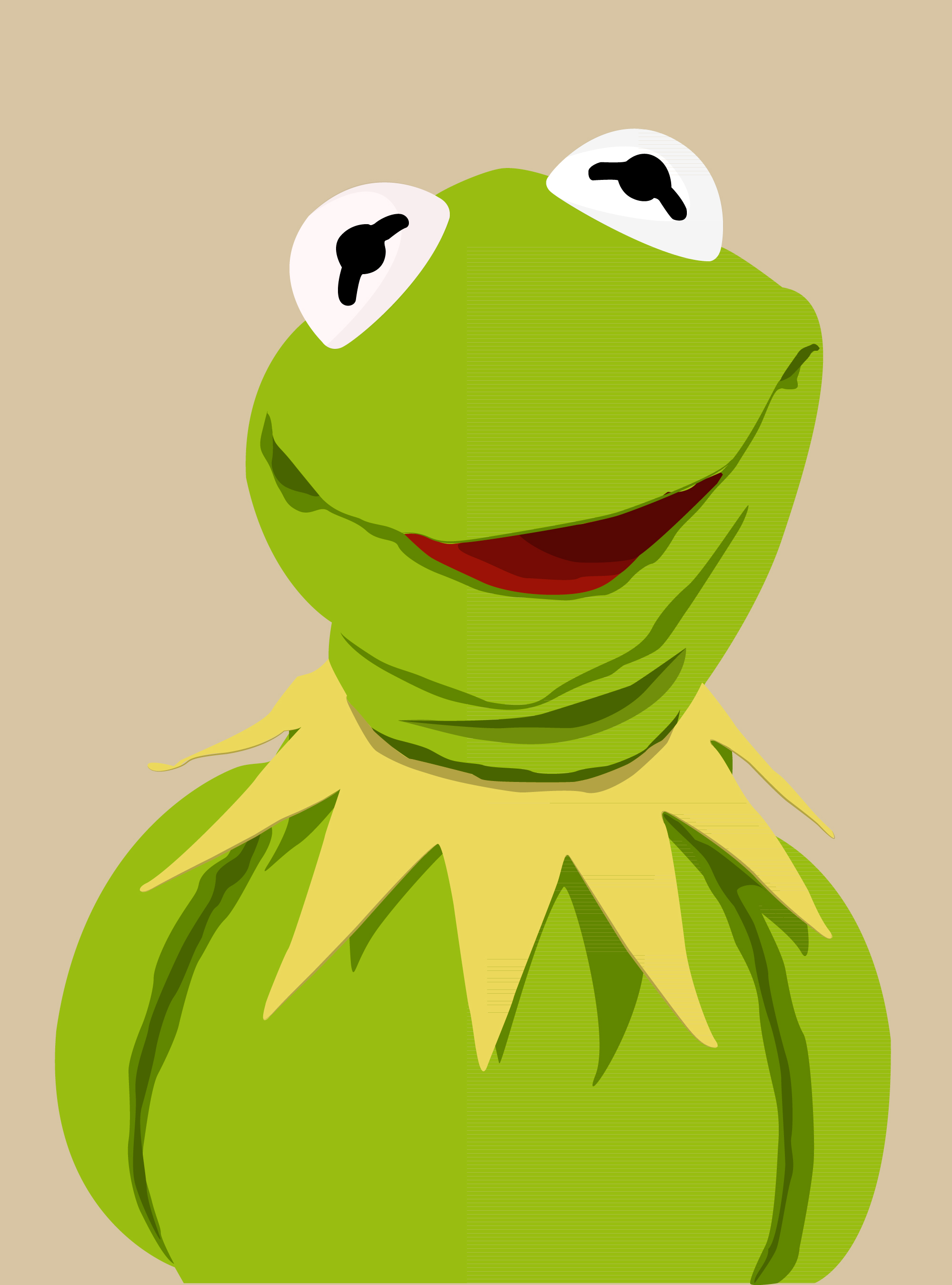 Kermit The Frog Vector At Getdrawings Com Free For