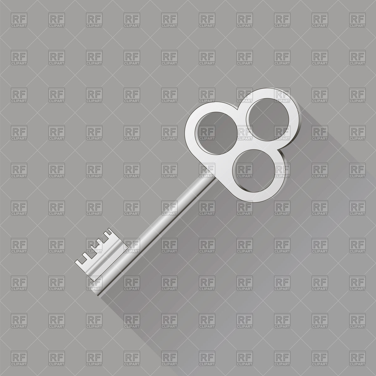 1200x1200 Retro Key Icon Vector Image Vector Artwork Of Icons And Emblems