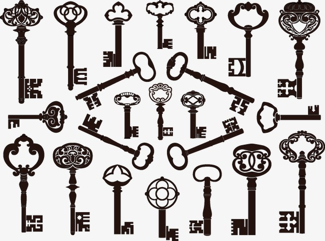 650x483 Vintage Keys, Vintage Vector, Vintage, Key Png And Vector For Free