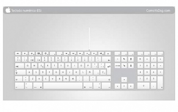 Keyboard Vector Free