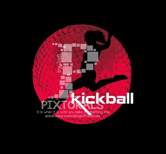 570x529 Kickball Ball Design Girls Jpg Png Pdf And Eps Formats As Etsy