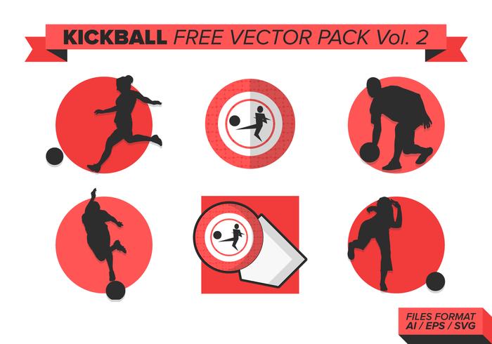 700x490 Kickball Free Vector Art