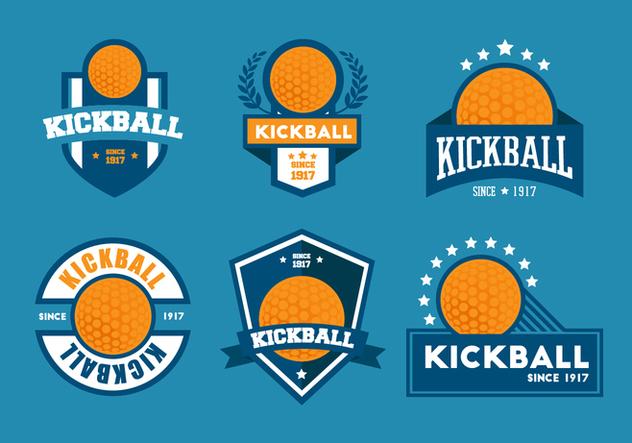 632x443 Kickball Vector Badge Sets Free Vector Download 412987 Cannypic