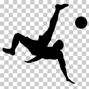 310x310 Football Player Bicycle Kick Kickball, Players Png Clipart Free