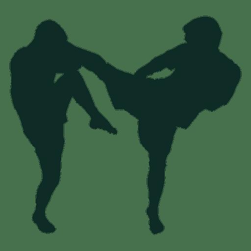 Kickboxing Vector