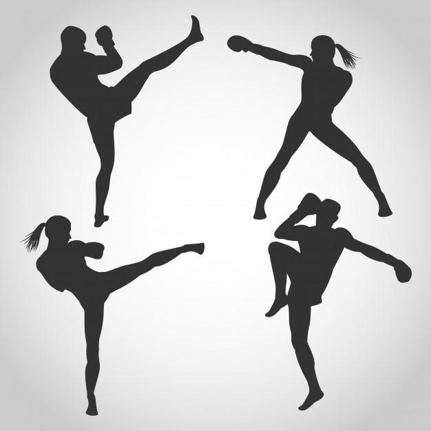 626x626 Kick Boxing Vectors, Photos And Psd Files Free Download
