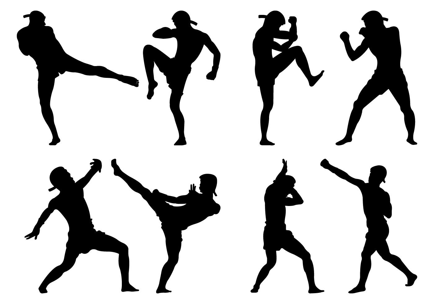 1400x980 Kickboxing Free Vector Art