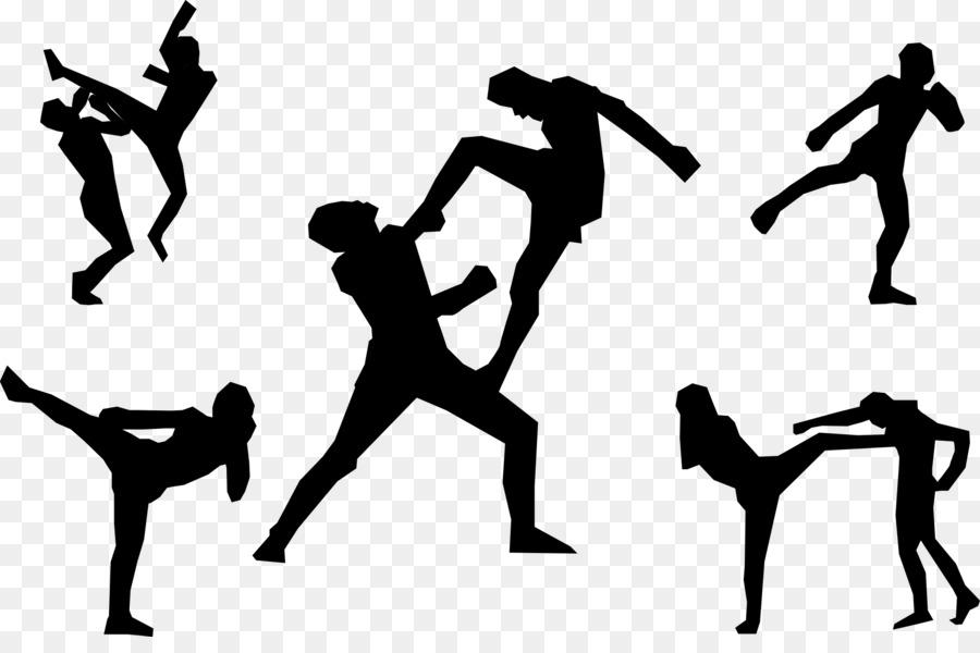 900x600 Muay Thai Kickboxing Martial Arts Clip Art