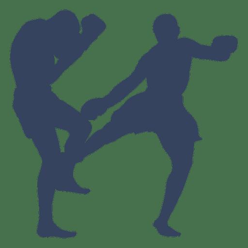 512x512 Boxing Kickboxing Sport Silhouette