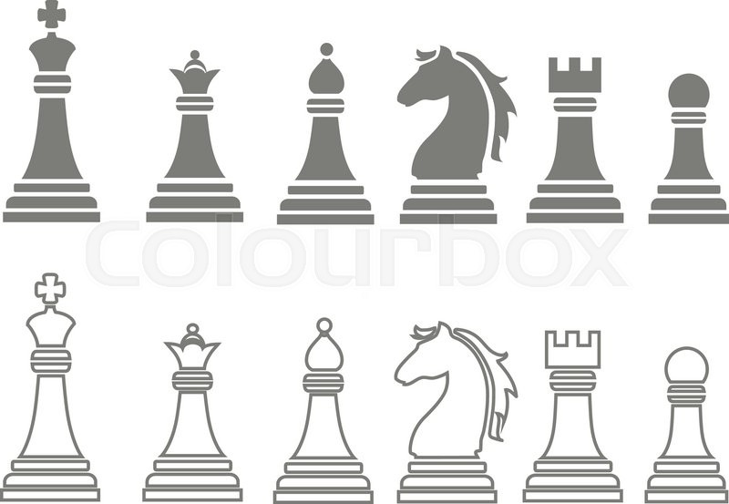 800x553 Chess Pieces Including King, Queen, Rook, Pawn, Knight, And Bishop