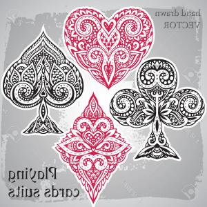 300x300 Hand Of Red Playing Cards Including The Ace Of Hearts Of Hearts