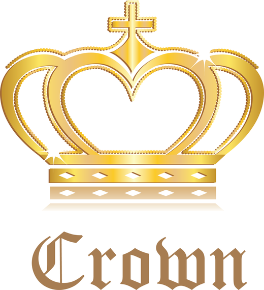 520x570 3d King And Queen Crown Vector Crown Ai Vector Photoshop Crown