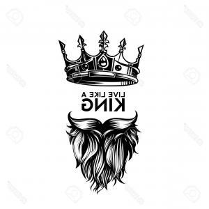 300x300 King Death Portrait Skull Crown Vector Lazttweet