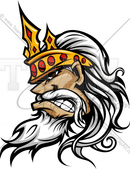 454x590 King Mascot Clipart Image. Easy To Edit Downloadable Vector Format.