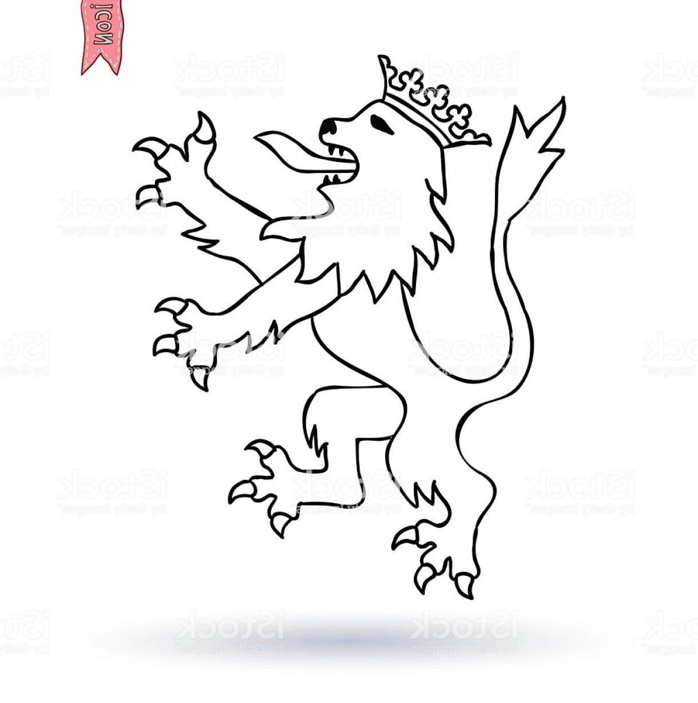 1220x1228 Royal Lion King Vector Coat Of Arms Gm Shopatcloth