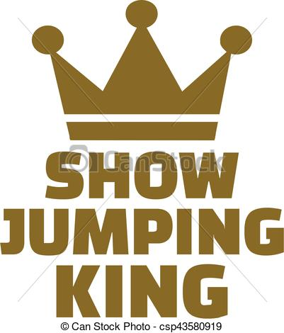 401x470 Show Jumping King.