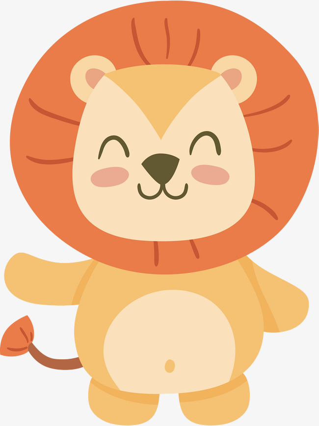 650x868 The Fat Lion King, Vector Png, Little Lion, Lovely Lion Png And