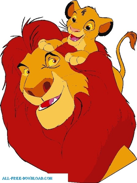 447x600 The Lion King Group003 Free Vector In Encapsulated Postscript Eps