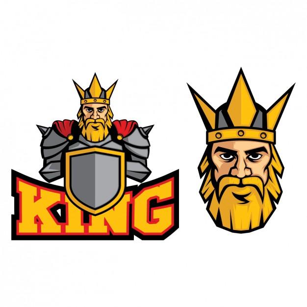 626x626 Coloured King Logo Design Vector Free Download