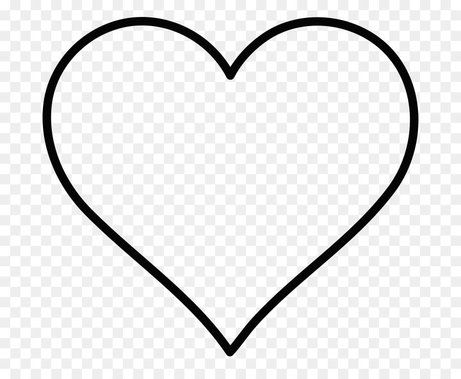 900x740 Heart Line Art