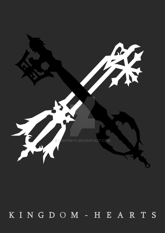 1024x1448 Kingdom Hearts Poster By Ronyeryx