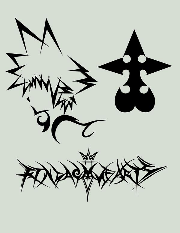 600x776 Kingdom Hearts Stuff By Dannyman