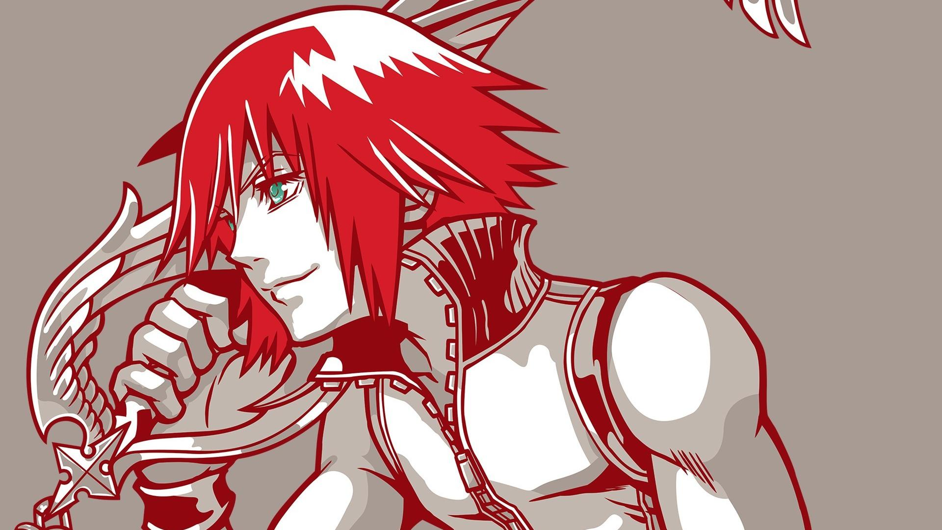 1920x1080 Kingdom Hearts Riku Vector Art Wallpaper (41619)