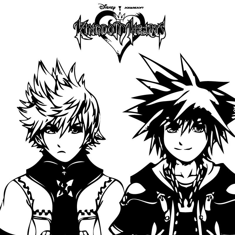 800x800 Another Kingdom Hearts Vector By Yagami0